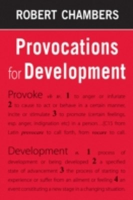 (ebook) Provocations for Development