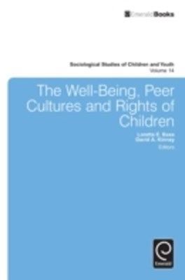 Well-Being, Peer Cultures and Rights of Children