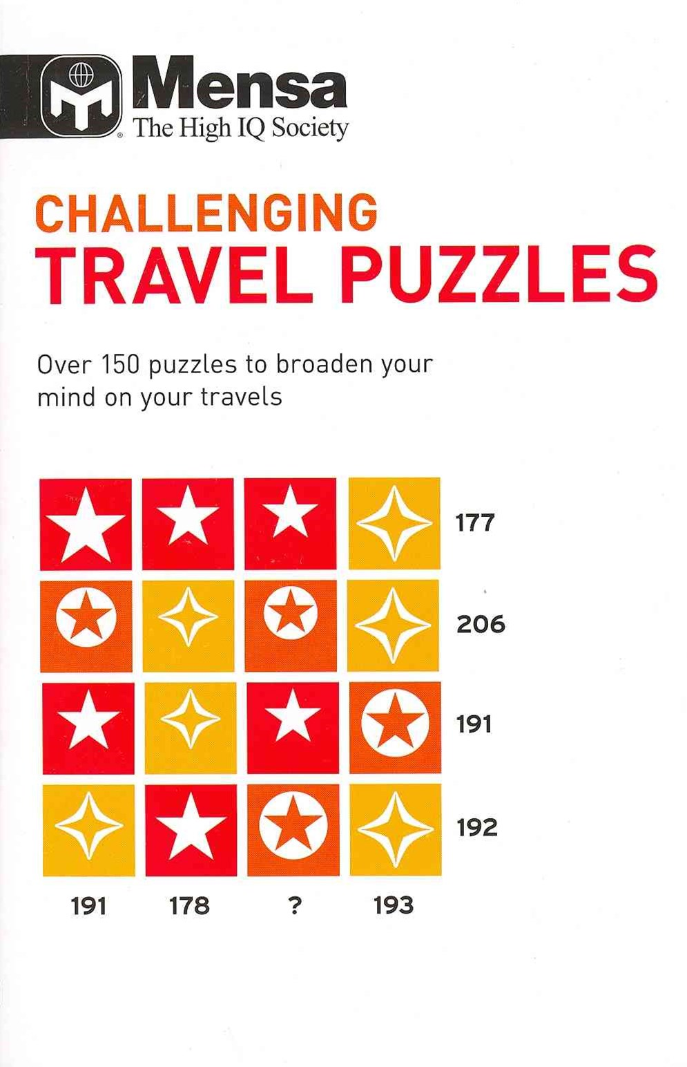 Mensa Challenging Travel Puzzles