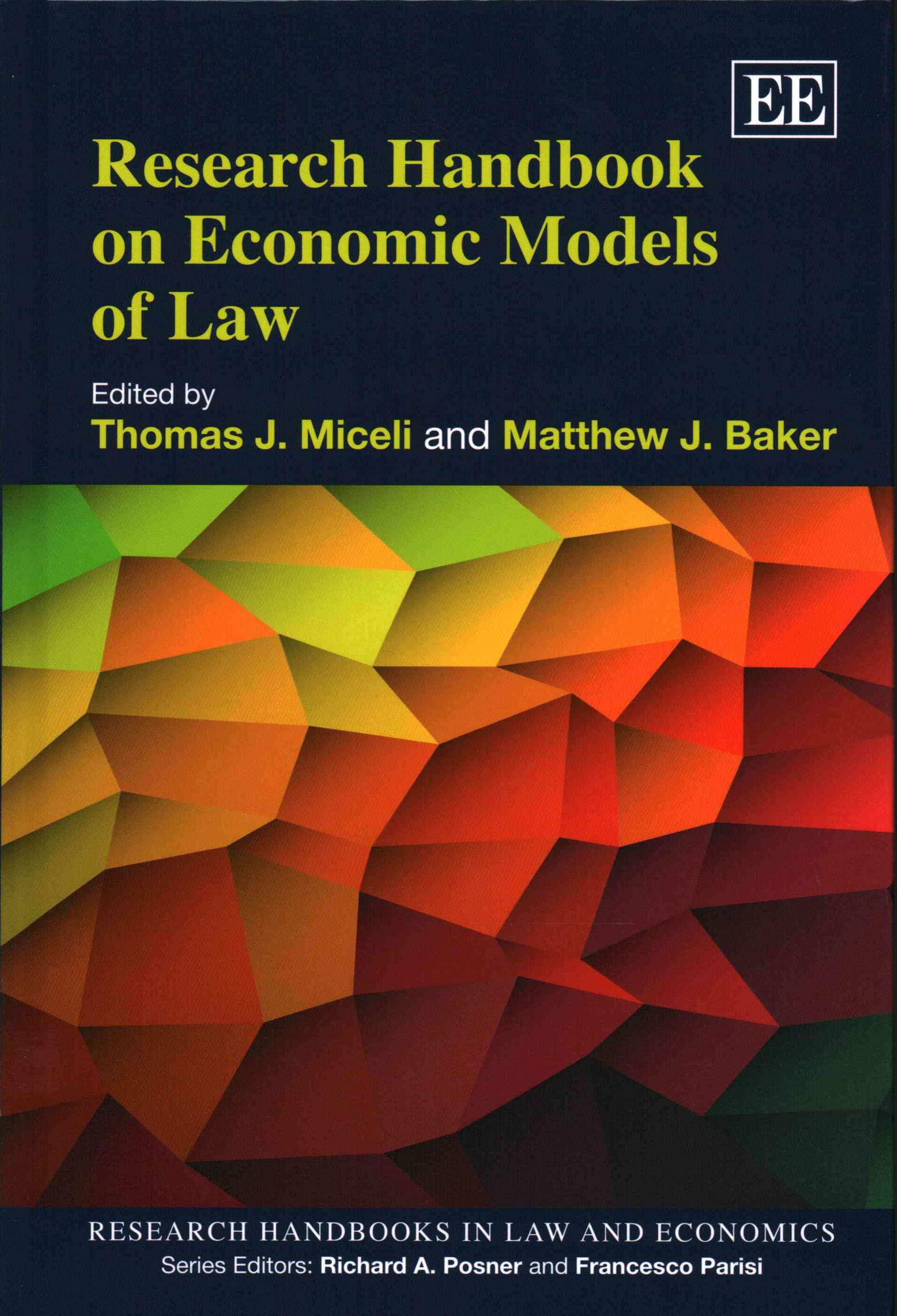 Research Handbook on Economic Models of Law