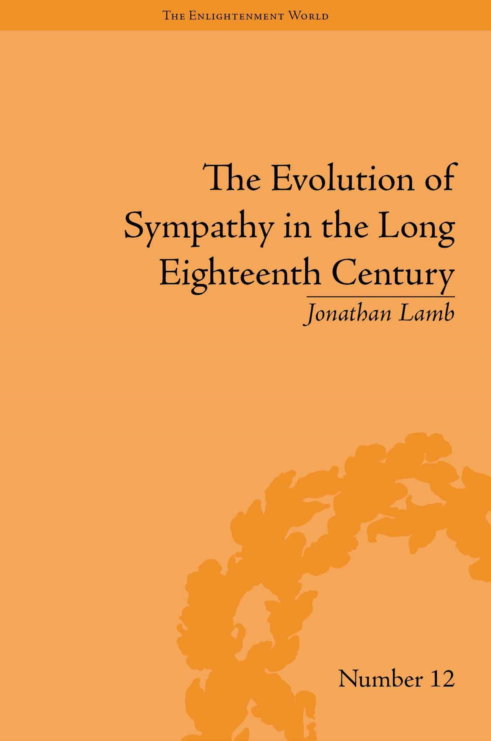 Evolution of Sympathy in the Long Eighteenth Century