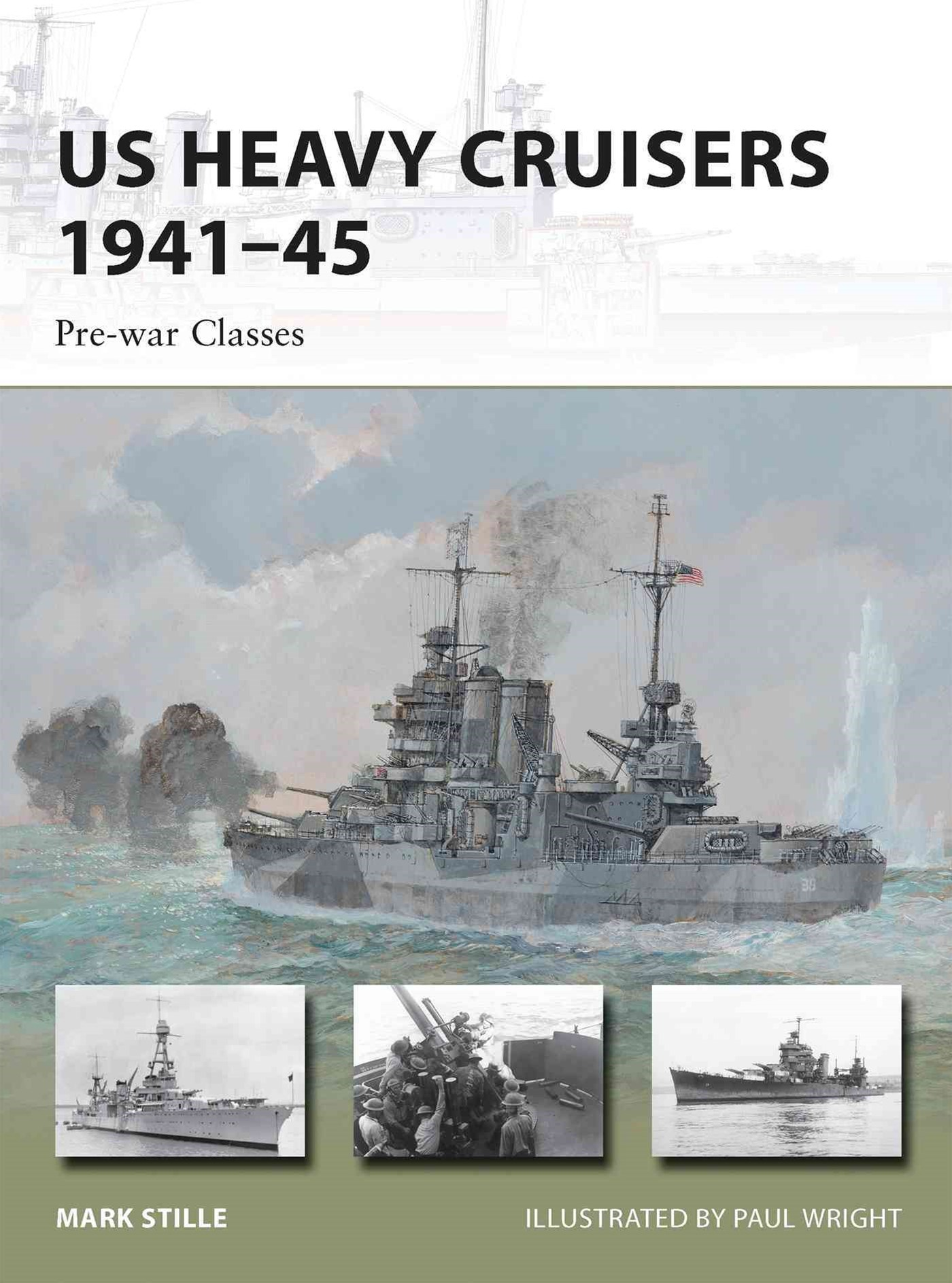 US Heavy Cruisers, 1941-45