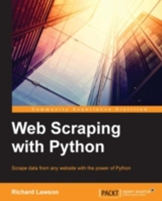 (ebook) Web Scraping with Python