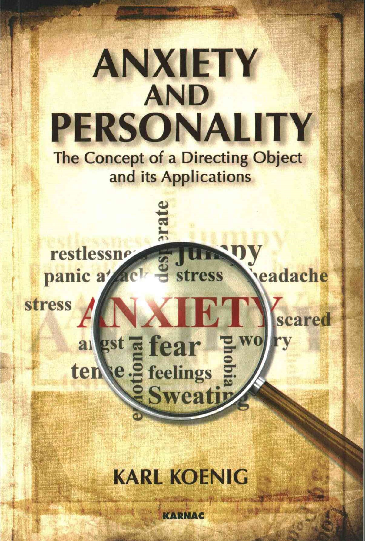 Anxiety and Personality