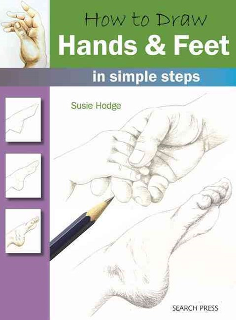 How to Draw Hands and Feet in Simple Steps