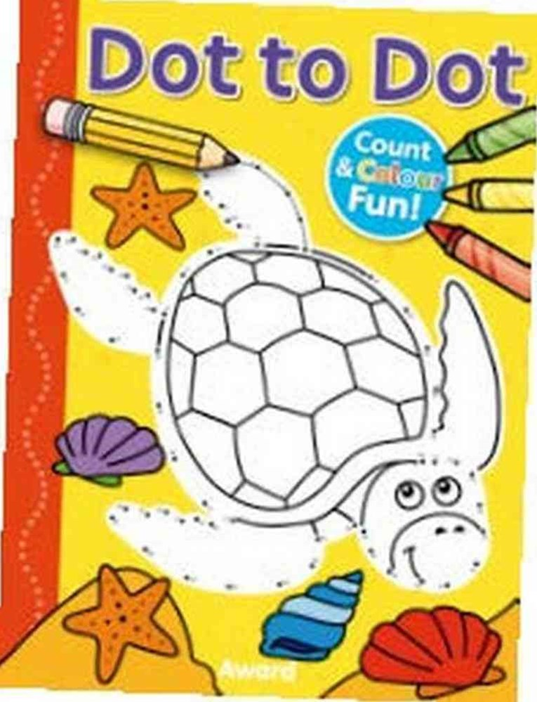 Dot to Dot Count and Colour Fun (Turtle)