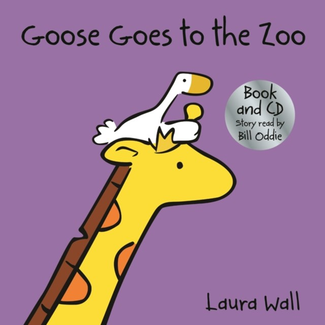 Goose Goes to the Zoo (w/ CD)