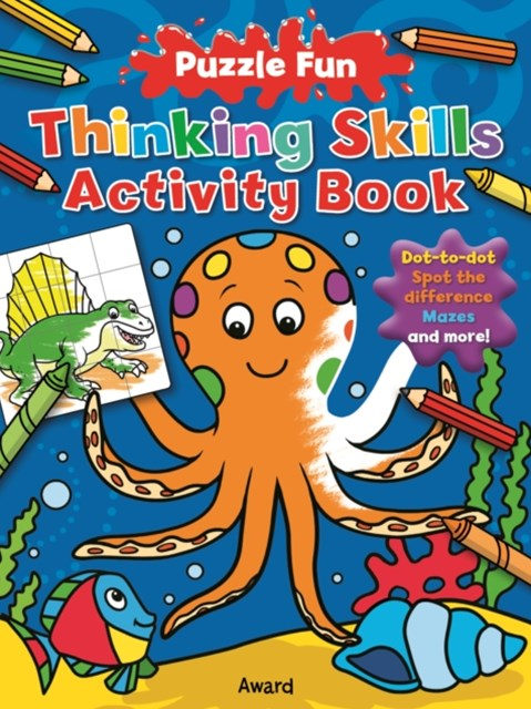 Thinking Skills Activity Book: Octopus