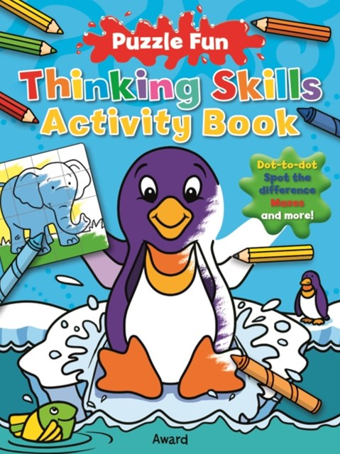 Thinking Skills Activity Book: Penguin