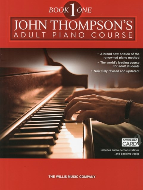 John Thompson's Adult Piano Course: Book 1