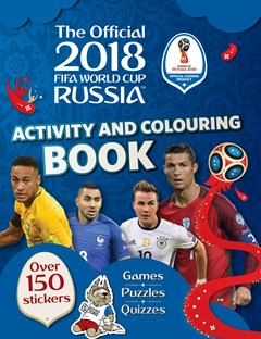 FIFA WC 2018 Sticker Activity Book