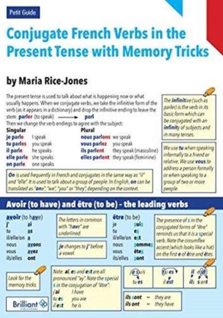 Conjugate French Verbs in the Present Tense with Memory Tricks