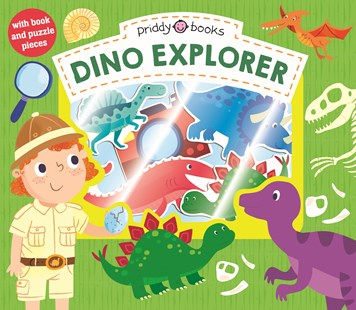 Let's Pretend Dino Explorer - Picture Books Gift & Novelty