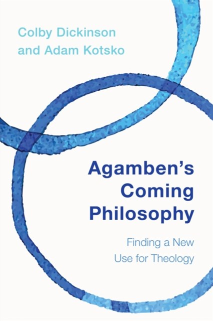 (ebook) Agamben's Coming Philosophy