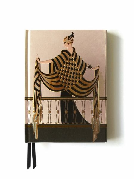 Foiled Journal #47: Balcony Erte