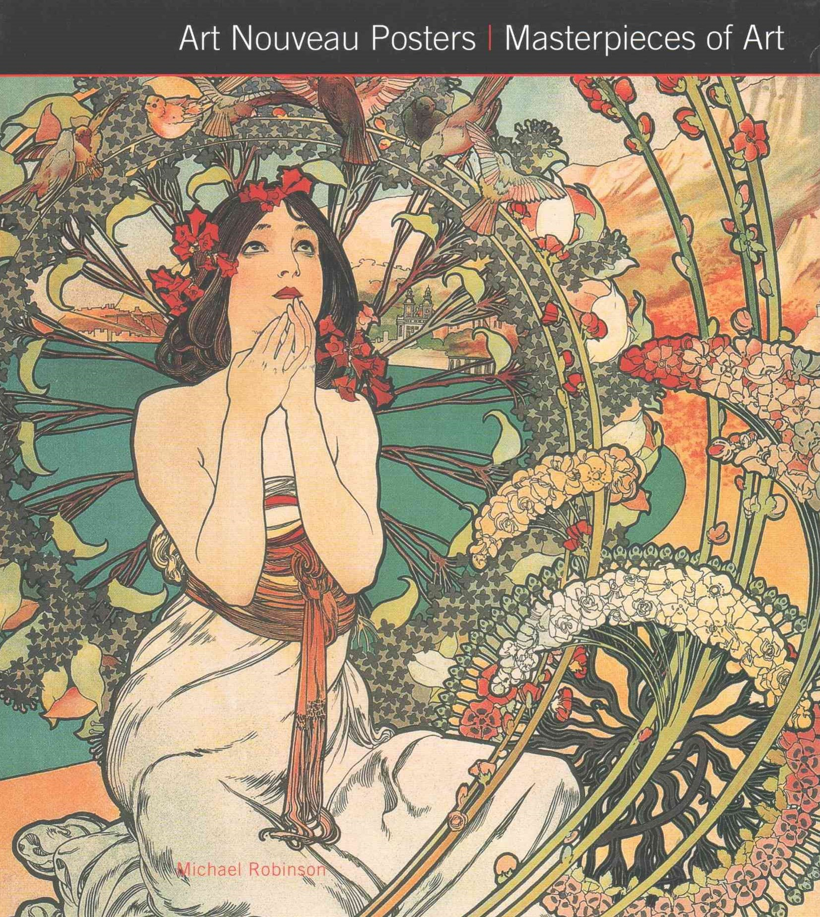 Art Nouveau Posters: Masterpieces of Art