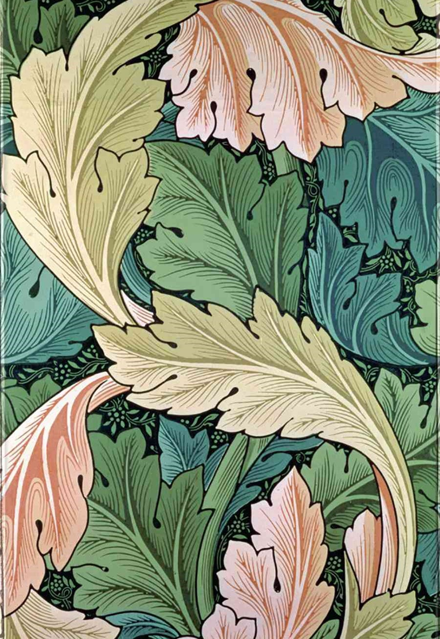 Foiled Journal #62: William Morris Acanthus