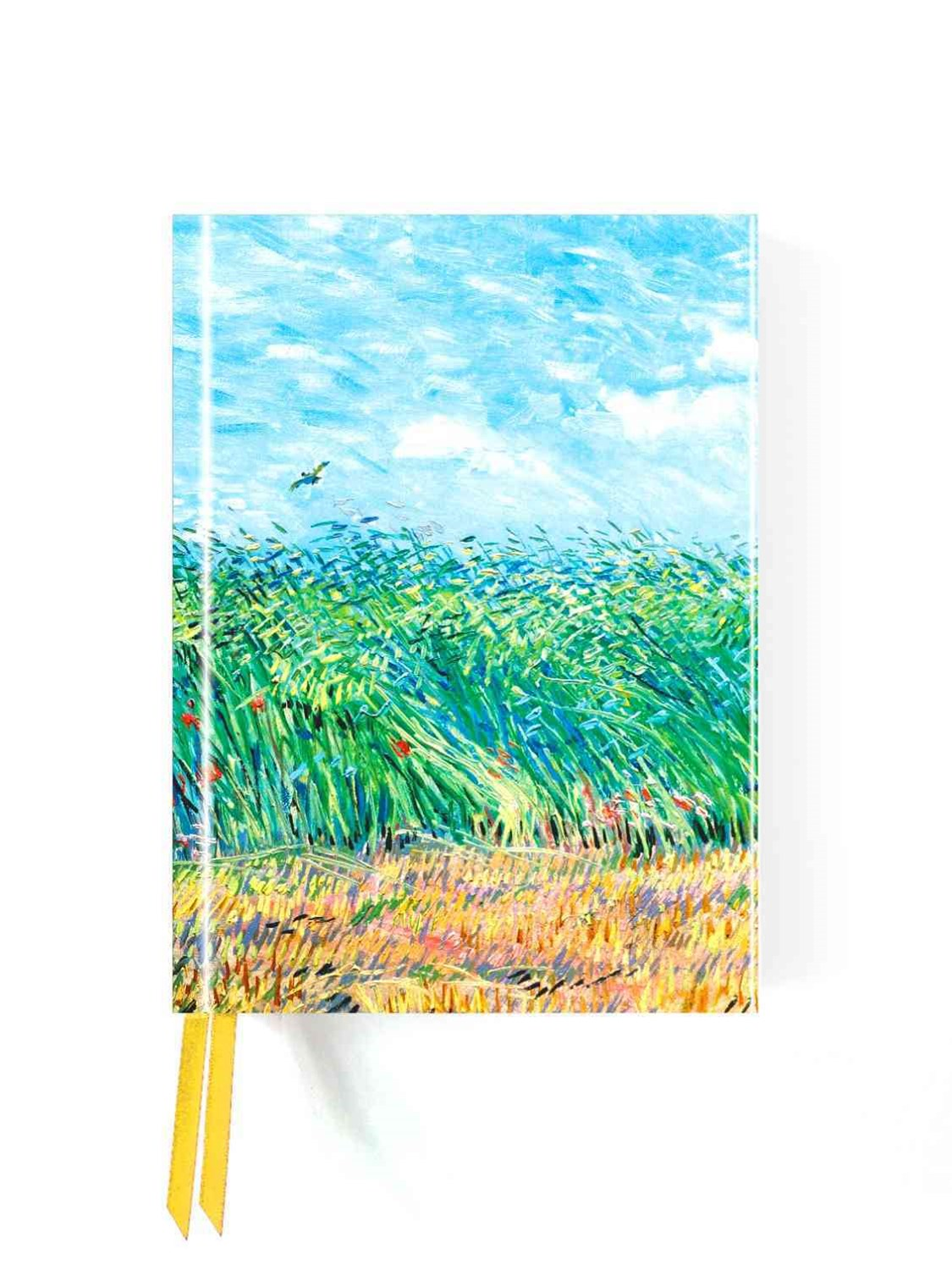 Foiled Journal #99: Wheat Field with Lark Van Gogh