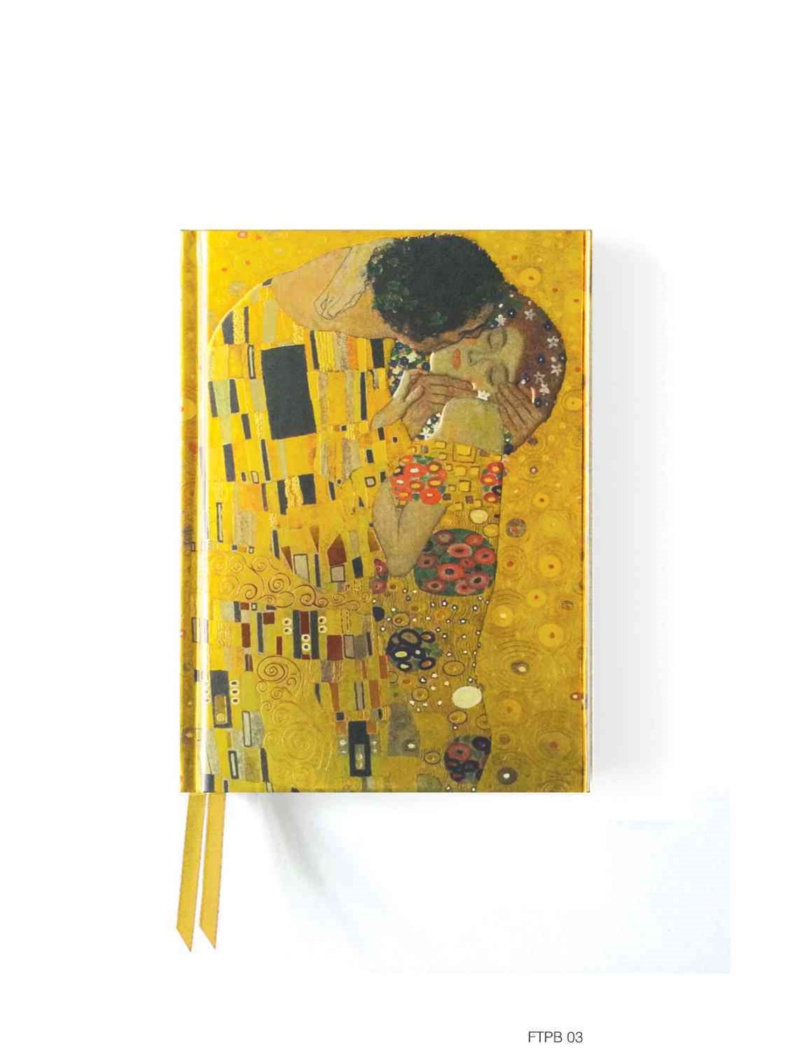 Foiled Pocket Journal: Klimt'sThe Kiss