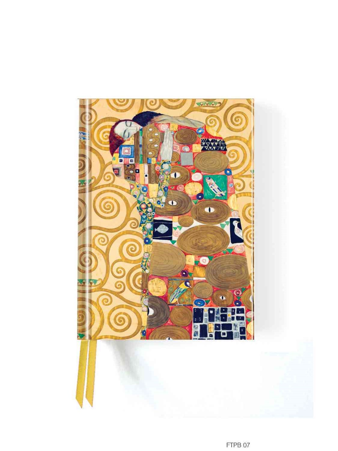 Foiled Pocket Journal: Klimt's Fulfiillment