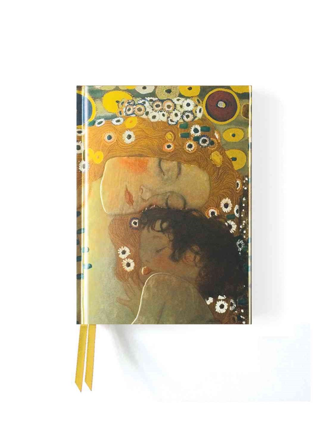 Foiled Pocket Journal: Klimt's Three Ages of Women