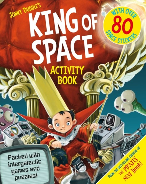 King of Space Activity Book