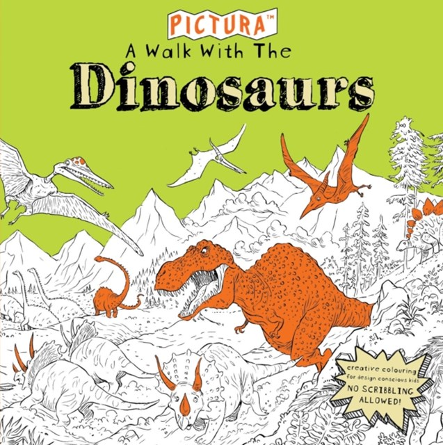 Pictura Puzzles: A Walk with the Dinosaurs