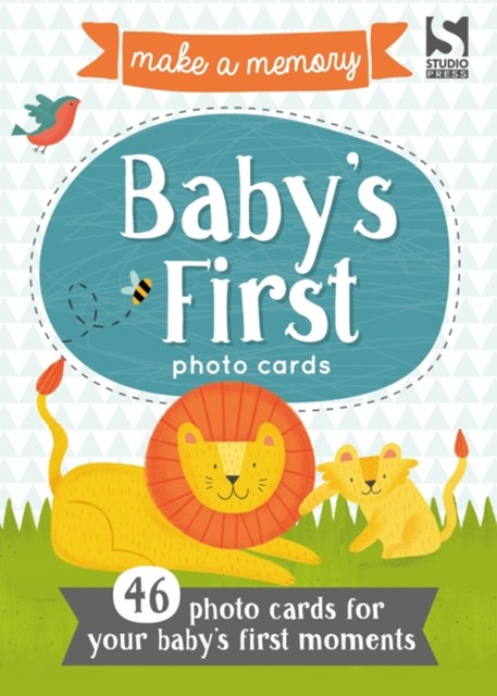 Make a Memory Baby's First Photo Cards