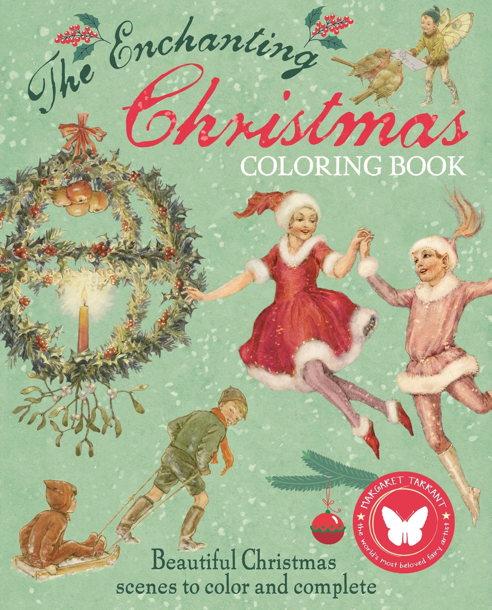 The Enchanting Christmas Coloring Book
