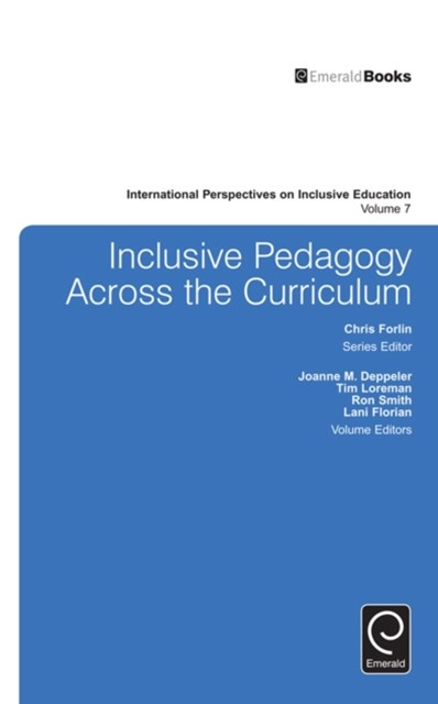 Inclusive Pedagogy Across the Curriculum