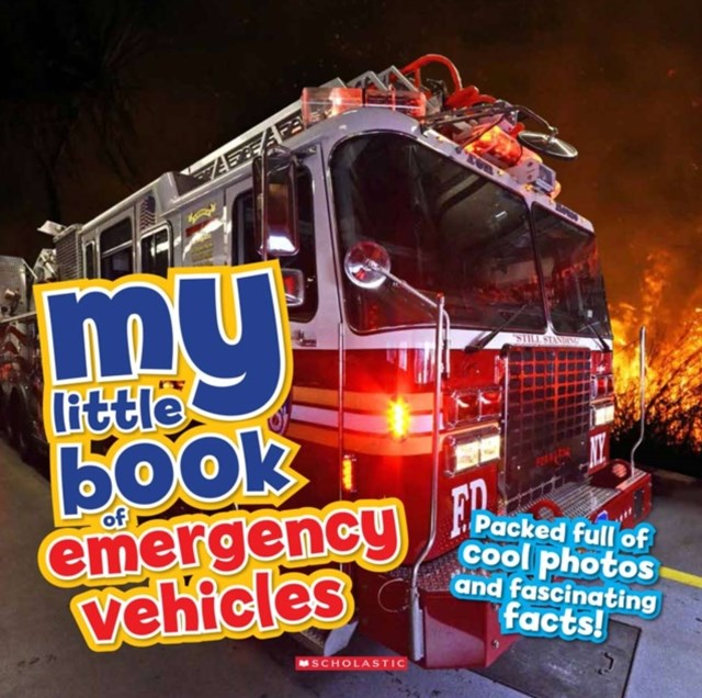 My Little Book Of... Emergency Vehicles