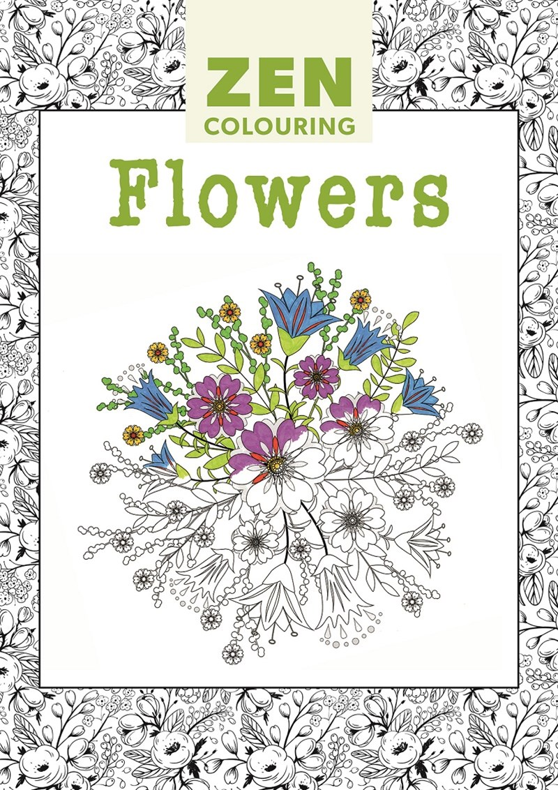 Zen Colouring - Flowers
