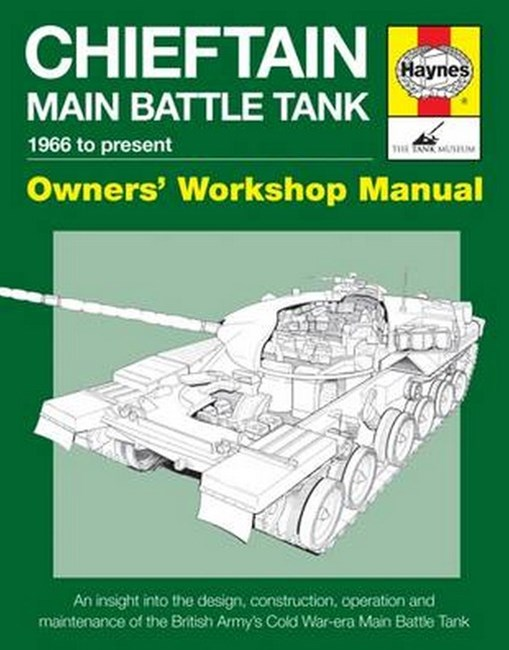 Chieftain Main Battle Tank Manual