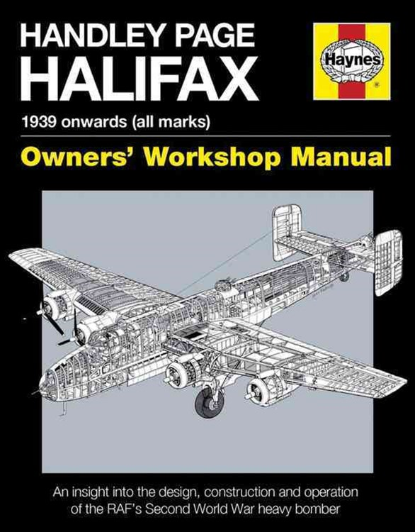 Handley Page Halifax Manual 1939-52 (All Marks)