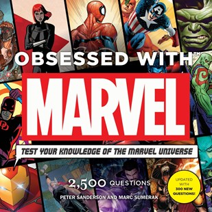 Obsessed with Marvel by Peter Sanderson, Mark Sumerak (9781785656651) - PaperBack - Craft & Hobbies Puzzles & Games