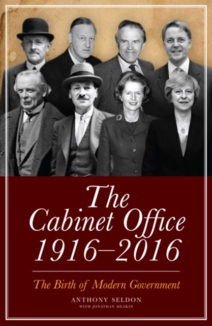 Cabinet Office, 1916-2018