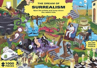 The Dream of Surrealism (in 1000 Jigsaw Pieces)