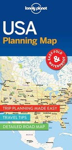 Lonely Planet USA Planning Map by Lonely Planet (9781786579096) - PaperBack - Travel Maps & Street Directories