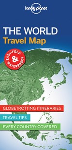 Lonely Planet The World Travel Map by Lonely Planet (9781786579119) - PaperBack - Reference Atlases