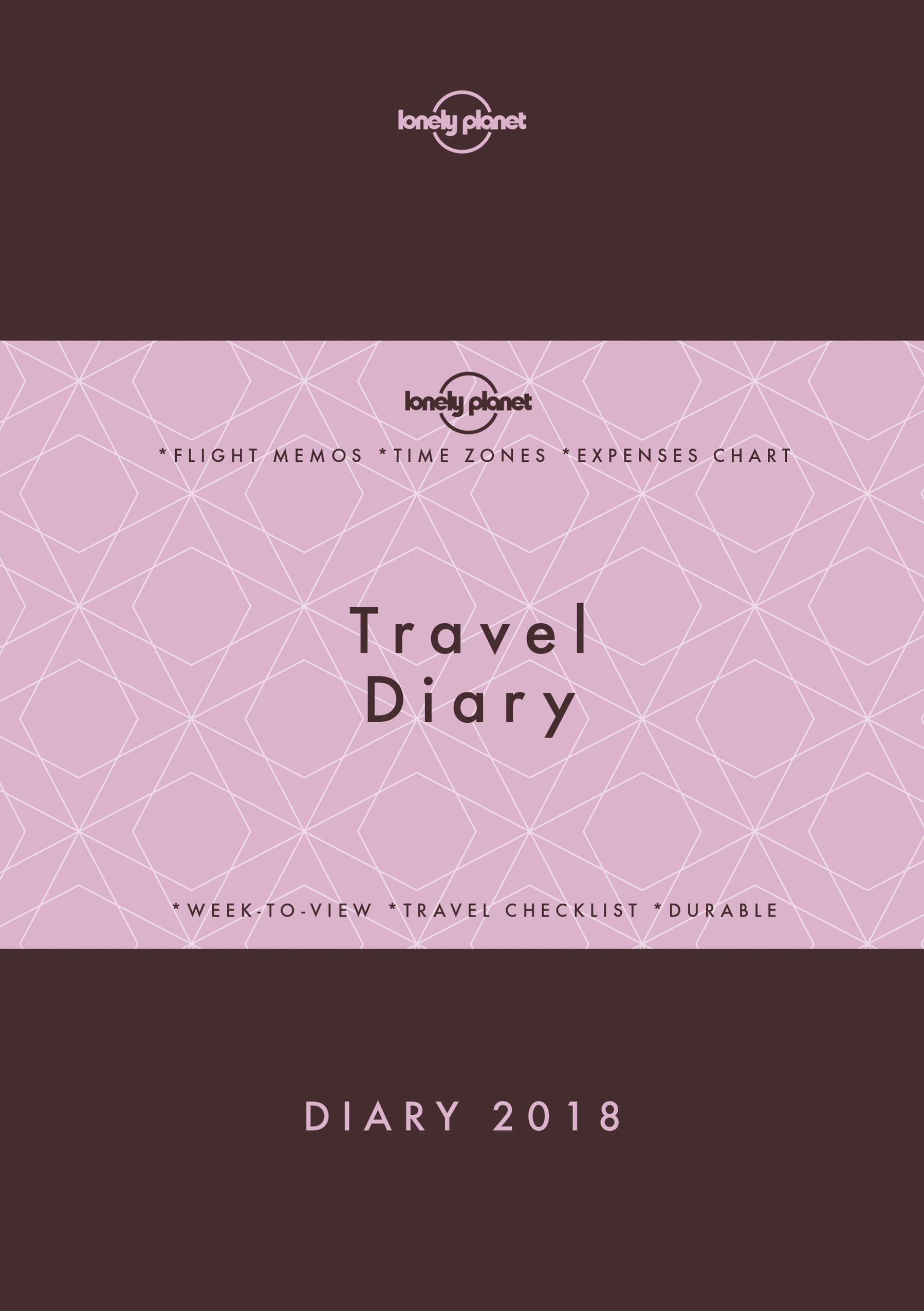 Lonely Planet Traveller's Diary 2018