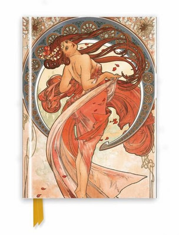 Foiled Journal #117 Mucha: The Arts, Dance