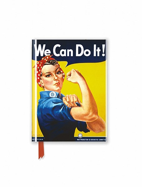 Foiled Pocket Journal #52 We Can Do It Poster