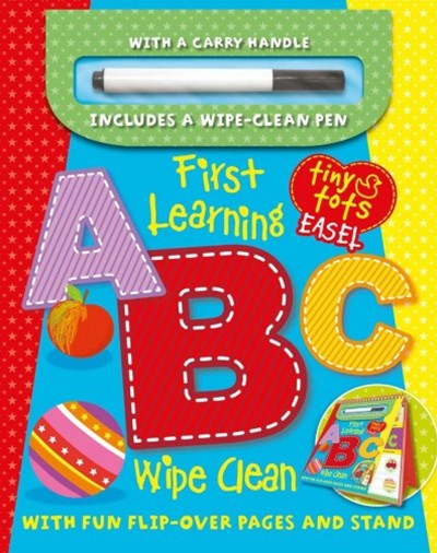 First Learning ABC Wipe Clean Easel W/ Pen