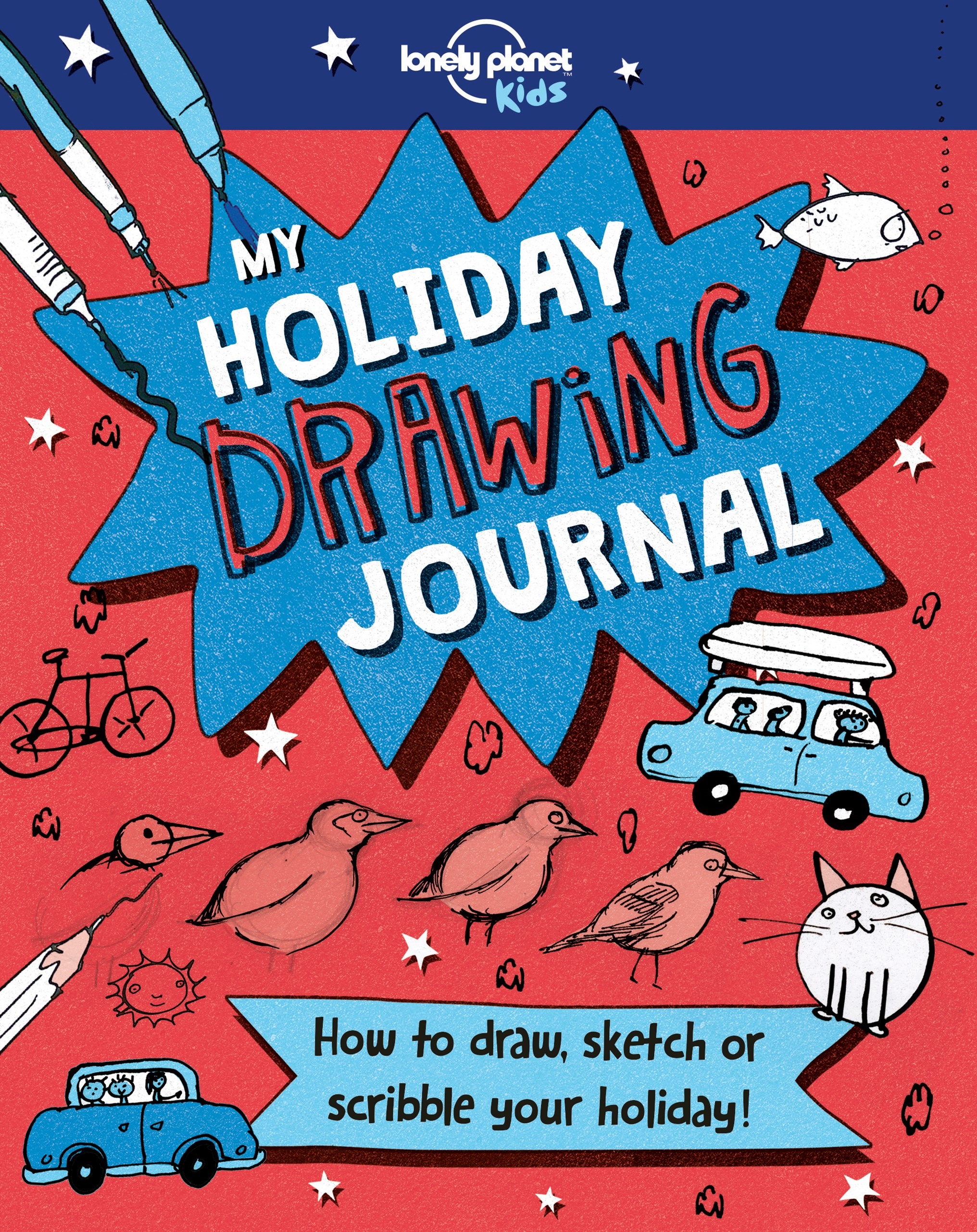 Holiday Drawing Book, My
