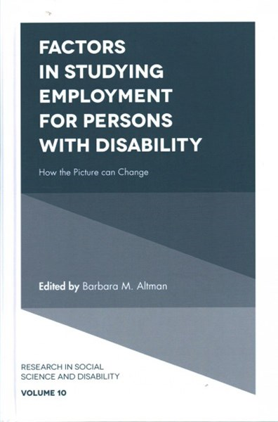 Factors in Studying Employment for Persons With Disability