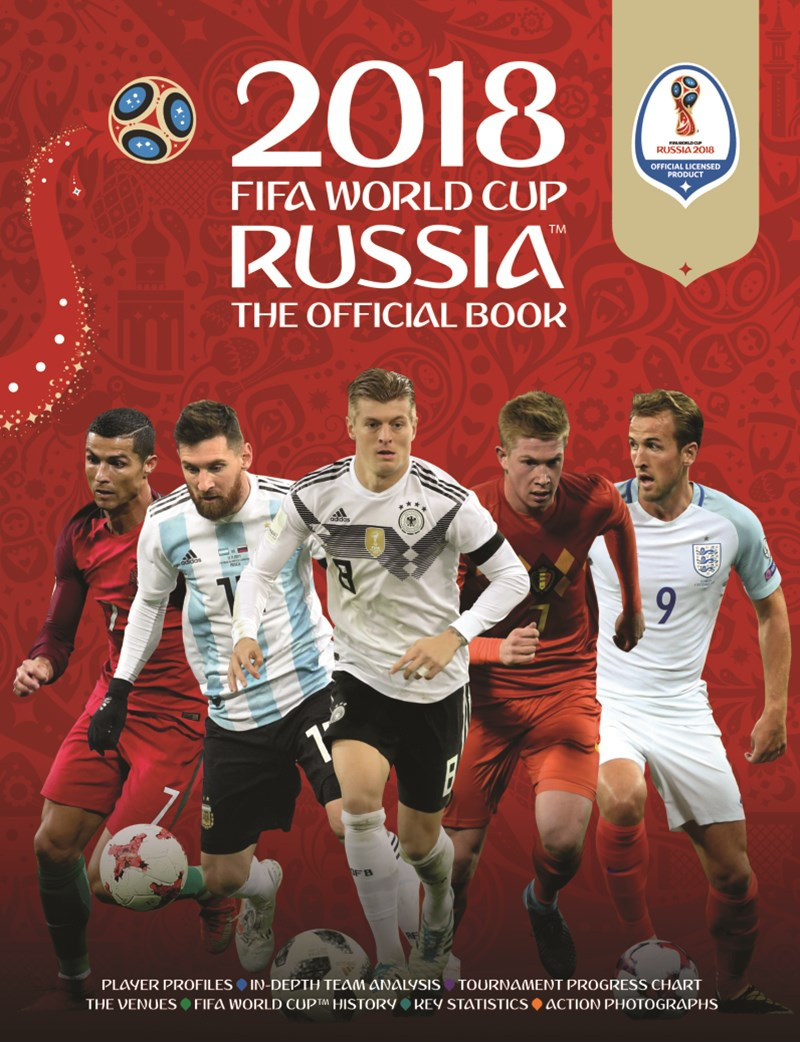 FIFA 2018 Official Book