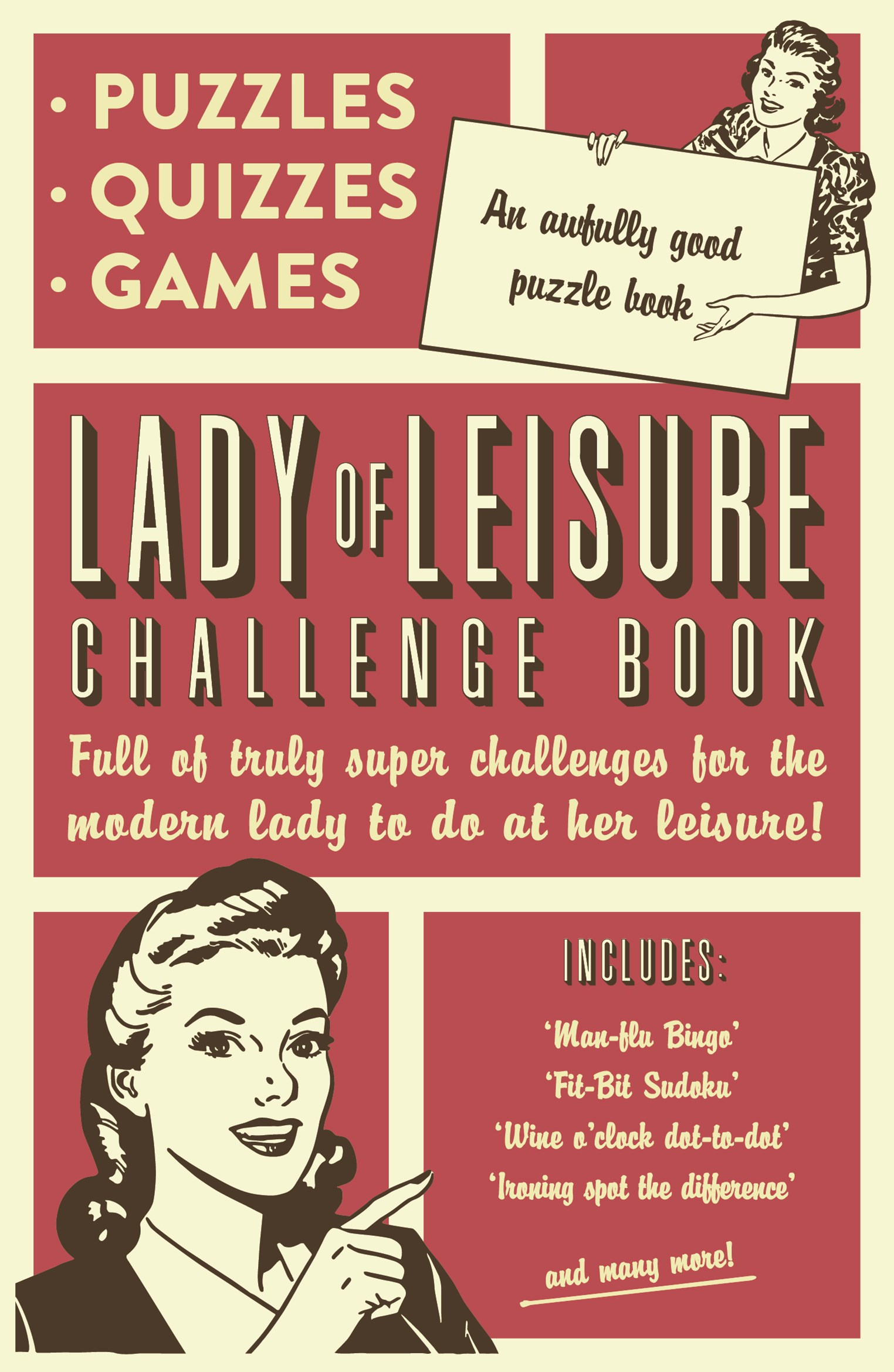 Lady of Leisure Challenge Book