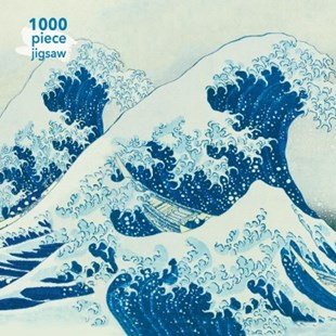 Great Wave 1000pc Jigsaw Puzzle - Jigsaws