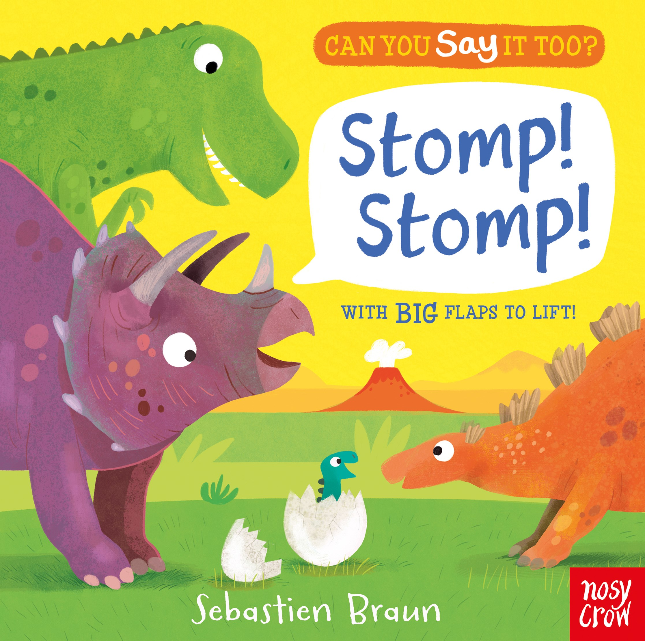 Can You Say it Too: Stomp Stomp