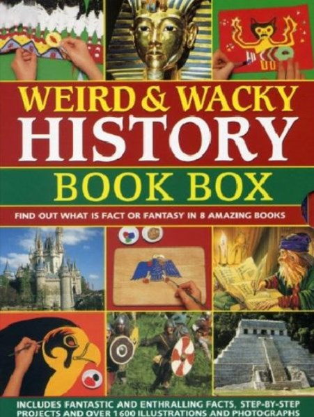 Weird and Wacky History Book Box